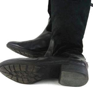 Sam Edelman Shoes - SAM EDELMAN Black Pembrooke Suede Leather Boots